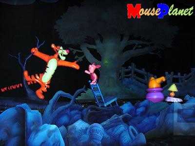 Disney world 12 jours de rêves en image RainRoom2-AVP