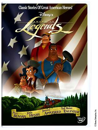 American Legends DVD cover - Promotional art � Disney
