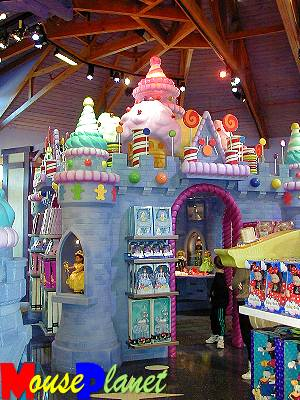The doll room's castle.