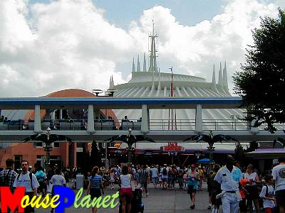 The Arcade and Space Mountain in the far reaches of the Land.