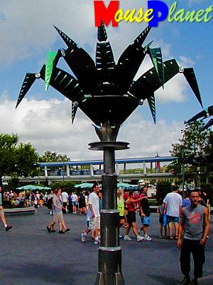 A Tomorrowland Tree.