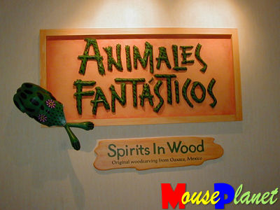 Animales interior sign