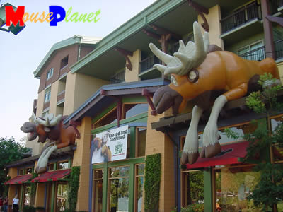 PHOTO: Moose in Downtown Disney.