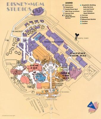IMAGE: 1989 park map.